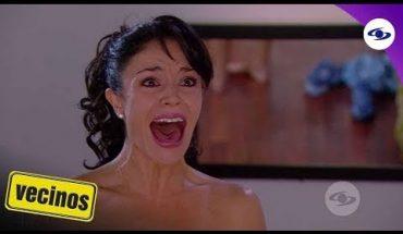 Vecinos: Óscar encuentra desnuda a Tatiana en su cuarto - Caracol TV