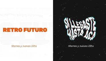 """🟠⚫ """"RETRO FUTURO"""" y """"SI LLEGASTE HASTA ACÁ"""" (Programa 12 del 08/07/21)"""