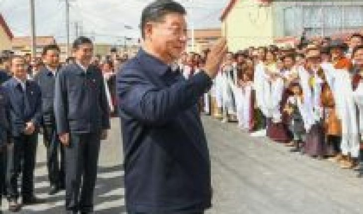 Xi Jinping en Tíbet, primera visita de un presidente chino desde 1990