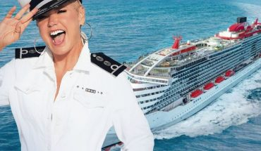 Xuxa festeja su cumpleaños en un crucero con sus fans de todo el mundo
