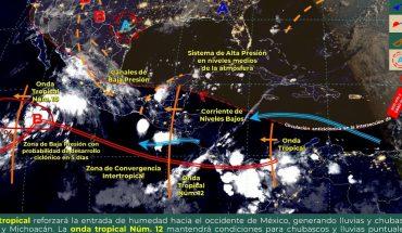 se espera posible formación de ciclón