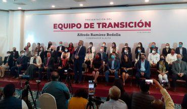 Alfredo Ramírez Bedolla Governor-Elect of Michoacán presents his Transition Team