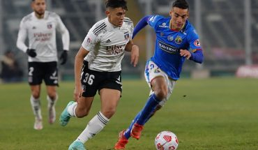 At the last moment Audax Italiano achieved the draw against Colo Colo at the Estadio Monumental
