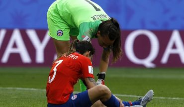 """Carla Guerrero after Chile's elimination from the JJ. OO.: """"We deliver everything"""""""