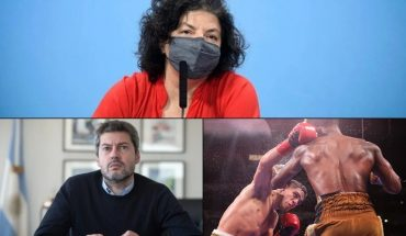 Carla Vizzotti defended the purchase of wooden penises; Group tourism will be authorized for the winter holidays; Brian Castano was better but drew after a controversial ruling and much more...