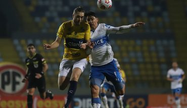 Copa Chile: UC equalized in Viña with Everton in the first leg of the knockout stages