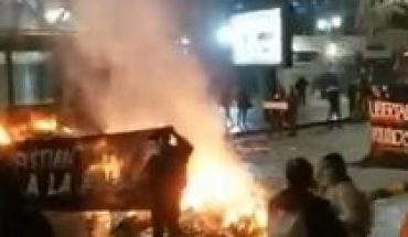 Demonstrations in the Alameda by prisoners of the explosion: traffic detours reported