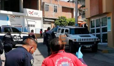 Driver of a Hummer is injured when he is shot in Tarímbaro, Michoacán
