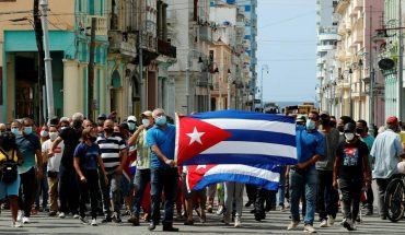 Fake messages on social networks about events in Cuba
