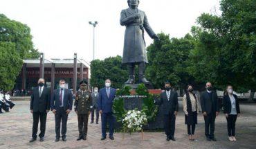 Government of Morelia commemorates the CCX anniversary of Don Miguel Hidalgo y Costilla