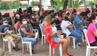 Long lines for Covid-19 vaccination to those of 30-39 in Mazatlan