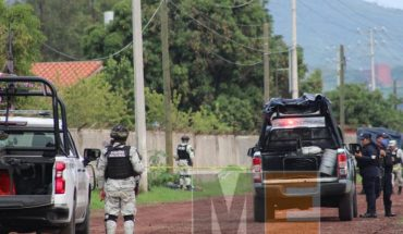 Man is shot in the gap of the Rio Nuevo
