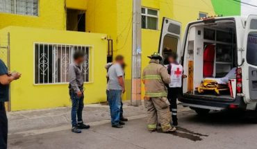 Megacable employee suffers electric shock in building of the Justo Mendoza colony