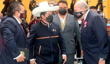 Pedro Castillo assumes the presidency of Peru