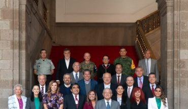 Ramirez Bedolla Analyzes Security Strategy with AMLO and Federal Cabinet