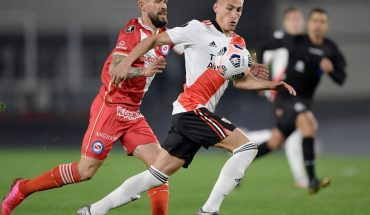 River equalized 1 to 1 with Argentinos in the Monumental