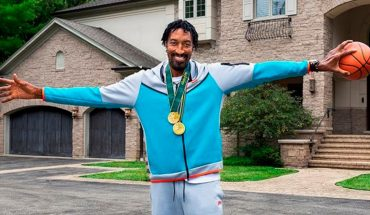 Scottie Pippen rents her mansion to watch the Tokyo Olympics