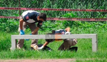 They find the body of a woman in the park of the Acanthus II Fractionation of Zamora