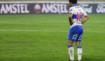 UC reported Puch's loss for the duel with Palmeiras
