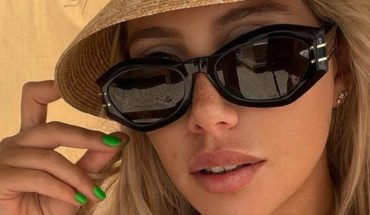 Wanda Nara traveled to Ibiza to enjoy the sun