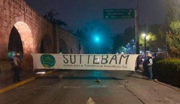 With road closures, Telebachillerato workers demand fortnight in Morelia
