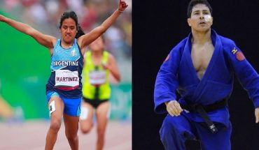 Yanina Martínez and Fabián Ramírez will be the Argentine flag bearers at the Paralympic Games