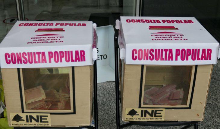 54,147 casillas han sido instaladas para la consulta popular, reporta el INE