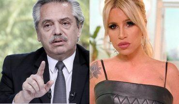 """Alberto Fernández: """"La castigaron a Florencia Peña y fue muy injusto e ingrato"""""""