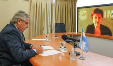 """""""Antes del FMI tengo que pagar un montón de deuda social"""", dijo Fernández"""