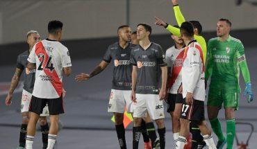 Atlético Mineiro apeló la roja de Nacho Fernández y pide su anulación