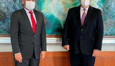 Bedolla y Ebrard acuerdan promover Michoacán en el exterior