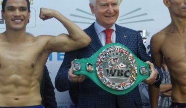 Boxeo. 'Pollito' Ceja en el respaldo de Manny Pacquiao