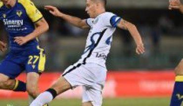 Con asistencia de Vidal, Inter de Milán triunfa 3-1 sobre Hellas Verona