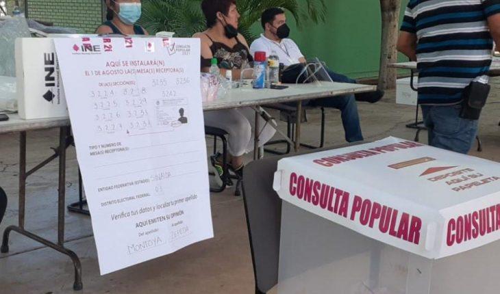 En marcha la Consulta Popular Ciudadana en Salvador Alvarado