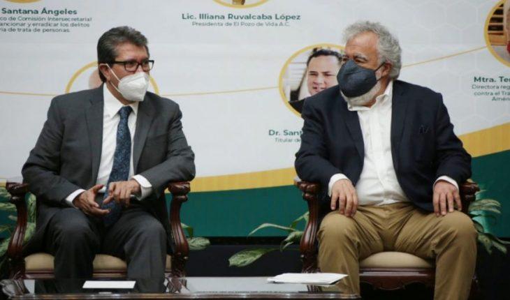 Encinas y Monreal se enfrentan por desafuero de Huerta en extraordinario