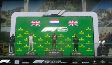 F1: Max Verstappen se quedó hoy con el GP de Bélgica