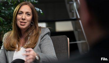 """Filo.elecciones│María Eugenia Vidal consideró que """"no estamos listos"""" para la legalización de la marihuana"""