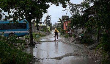 """'Grace' lleva a Haití lluvias """"extremadamente fuertes"""" tras el terremoto"""