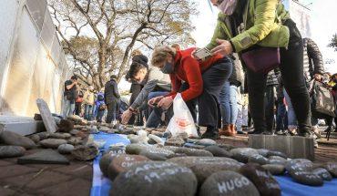 Marcha de las Piedras: El acto en memoria de las víctimas del COVID-19