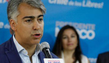 """Marco Enríquez-Ominami: """"No me habría lanzado si la consulta hubiese sido buena, habría sido una demostración de fuerza. Pero no lo fue"""""""