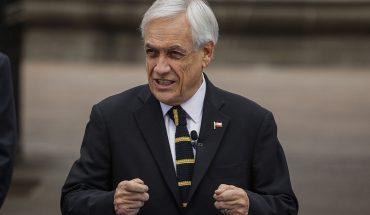 """Piñera por cifras económicas y contagios de Covid-19: """"Chile se está poniendo de pie"""""""