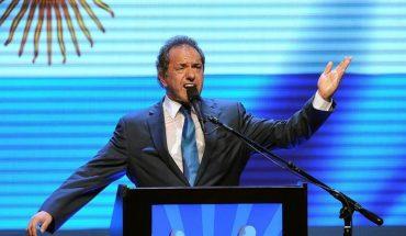 """Scioli, sobre las elecciones: """"La gente va a reflexionar"""""""