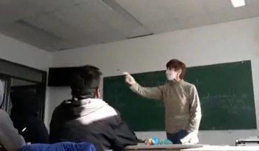 Suspenden temporalmente a la docente que increpó a los gritos a un alumno