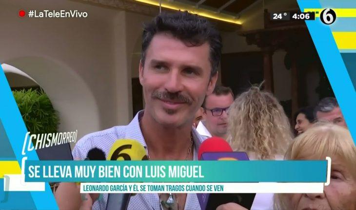¿Qué relación tiene Leonardo García con Luis Miguel? | El Chismorreo