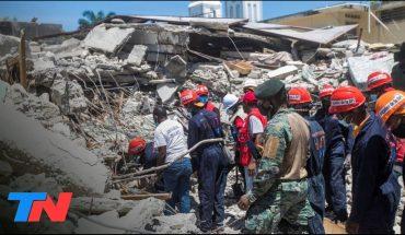 Crece la cifra de víctimas del terremoto en Haití: al menos 1297 muertos y 5700 heridos