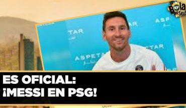 Messi es presentado por el PSG | La Bola del 6