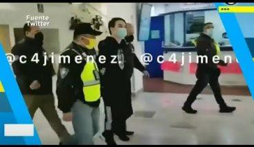 Momento exacto de la detención de violador de Ainara | El Chismorreo