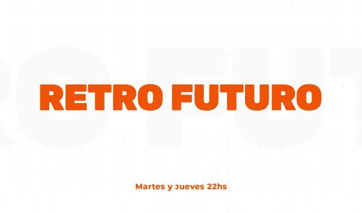 """🟠 RETRO FUTURO: GABY DE """"A JUGAR CON HUGO"""" EN VIVO (Programa 18 del 03/08/21)"""