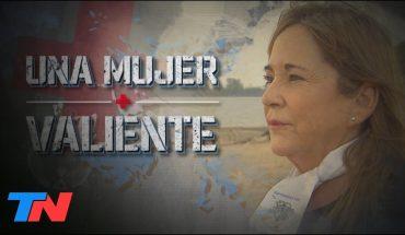 UNA MUJER VALIENTE | Alicia es la primera enfermera reconocida como veterana de Malvinas