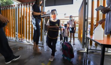 Coahuila records 80% attendance on first day back to school